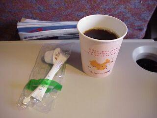 日本エアシステム エコノミークラス機内食