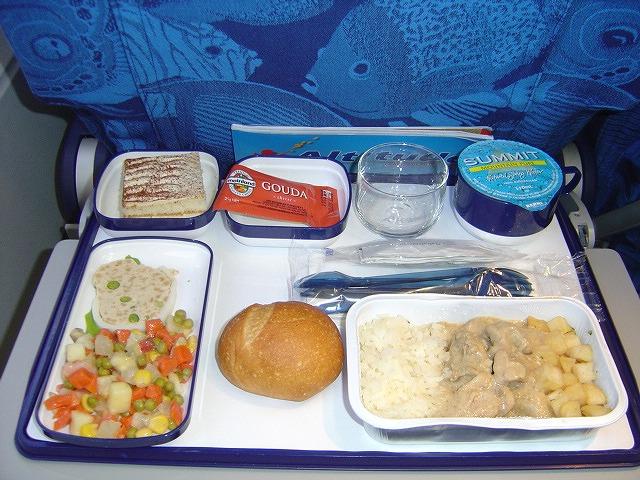 エアカレドニア航空エコノミークラス機内食