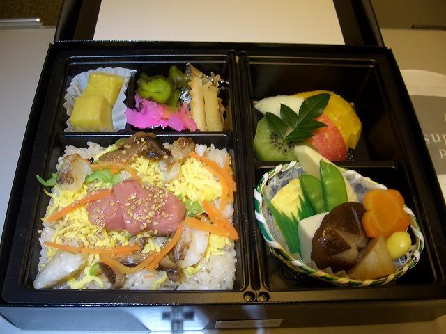 ANA全日空 ビジネスクラス機内食