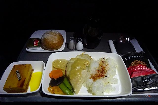 ジェットスター航空ビジネスクラス機内食
