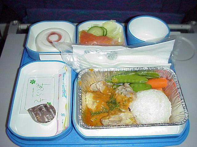 cz390 中国南方航空 エコノミークラス機内食