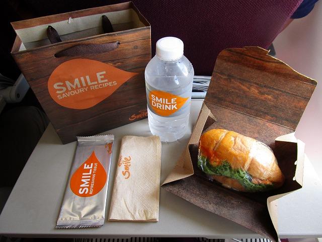 タイスマイル航空 エコノミークラス機内食