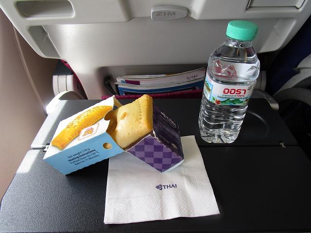 タイ航空 エコノミークラス機内食