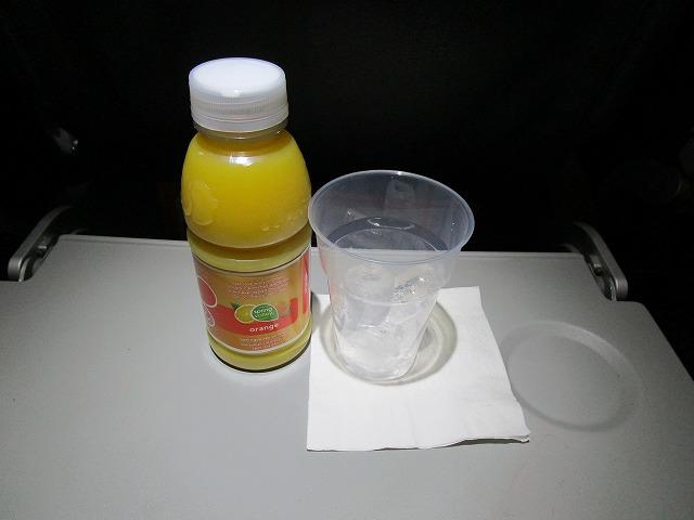 ジェットスター航空 エコノミークラス機内食