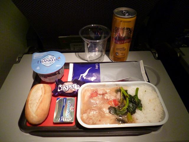 機内食 QF553