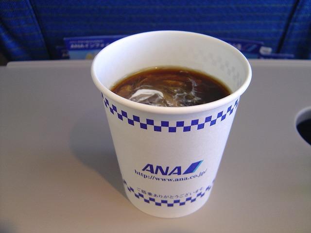 NH854 ANAオリジナルアイスコーヒー