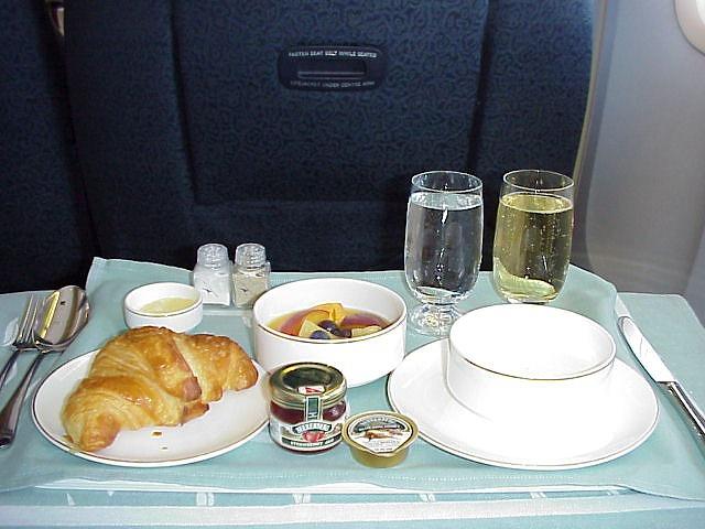 カンタス航空 QF63 機内食