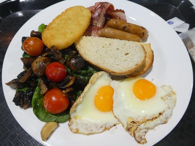 Big Breakfast Velocity Expresso & Bar(ゴールドコースト)朝食