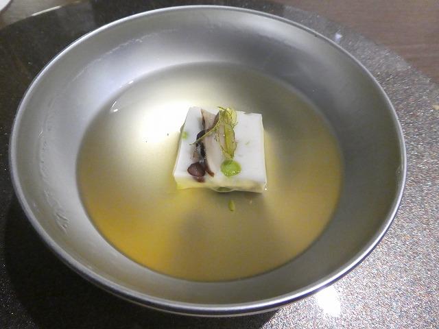 萩真薯清汁仕立て