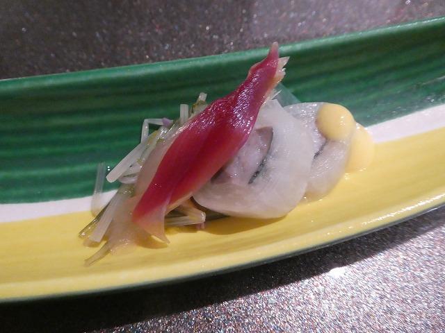 秋刀魚絹田巻き
