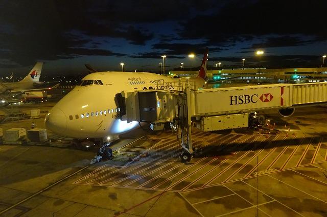 QF26 カンタス航空 シドニー空港