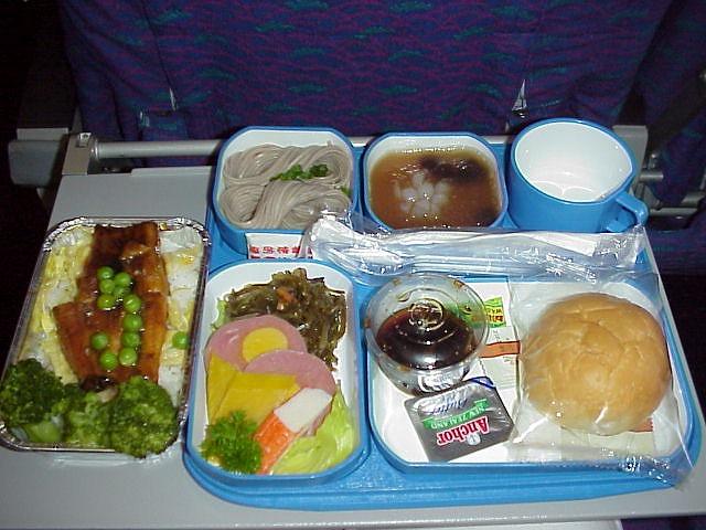 CZ389 中国南方航空 機内食 エコノミークラス