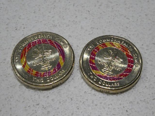 コモンウェルスゲームの記念硬貨2ドル