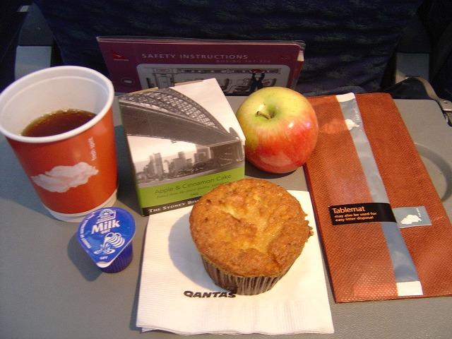 カンタス航空(QF425)機内食