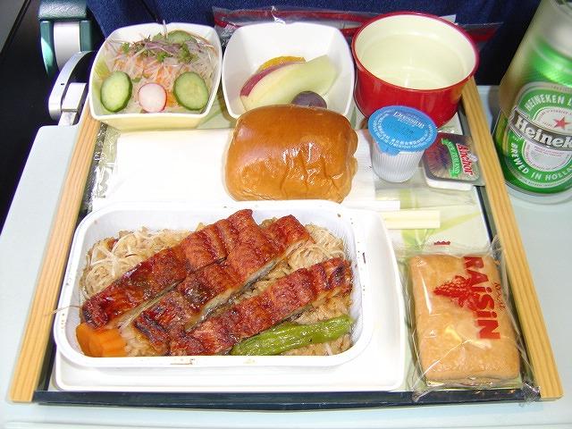 キャセイパシフィック航空(CX565)機内食