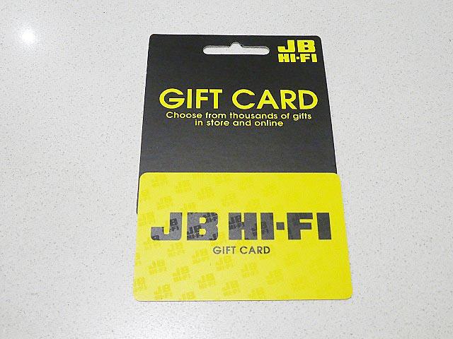 JB HI-FI ギフトカード