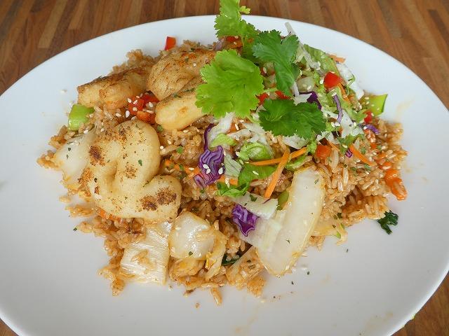 泰式花枝炒飯