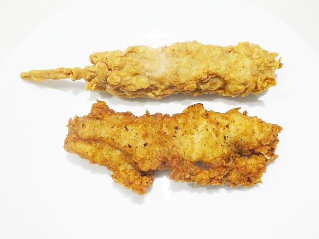 Hot Rod(上)とOriginal Tender(下)
