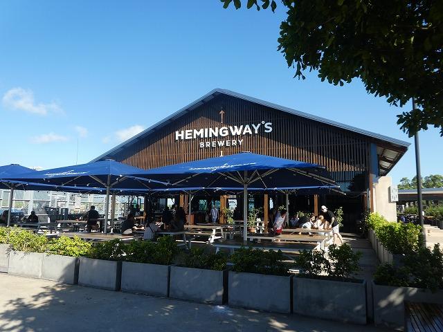 Hemingway's Brewery Cairns(ヘミングウェイズ ブリューワリー)